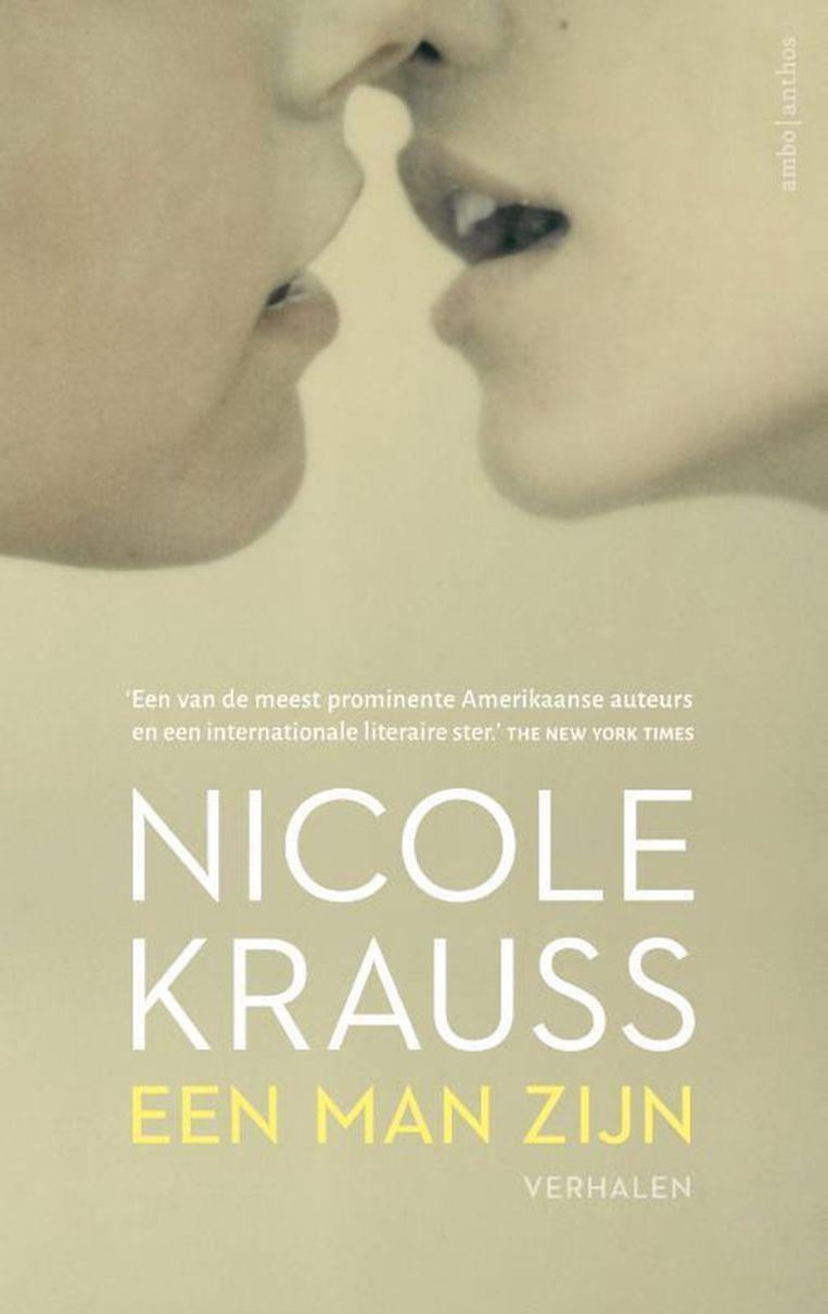 omslag Nicole Krauss Een man zijn Beeld