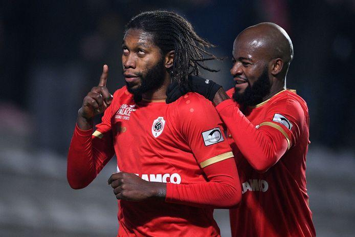 Dieumerci Mbokani en Didier Lamkel Zé.
