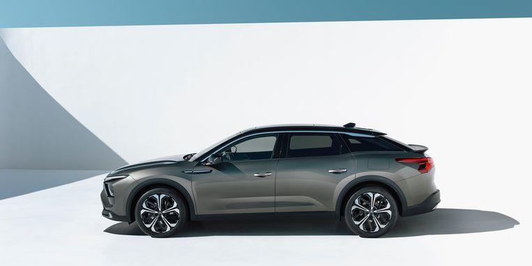 De nieuwe Citroën C5X, die eind dit jaar moet verschijnen. Beeld William CROZES @ Continental Productions