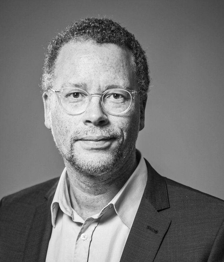 Dennis Boutkan, gemeenteraadslid PvdA Amsterdam. Beeld