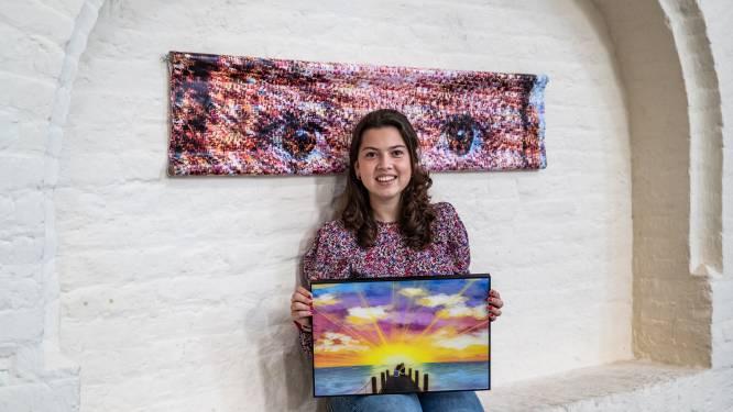 Dante Alighieri herleeft in Deventer op tentoonstelling gemaakt door middelbare scholieren: 'Dit is het mooiste wat ik ooit heb gemaakt'