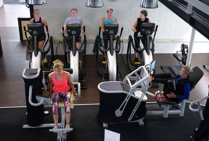 Samen sporten bij Aerofitt eind 2019.