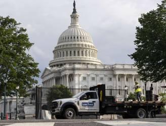Hekwerk aan Capitool in Washington wordt half jaar na bestorming afgebroken