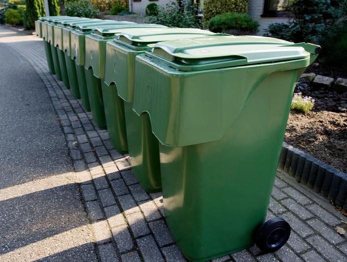 De wijk Stroom Esch kreeg tien jaar geleden containers voor groen afval. Die bakken mogen nog wel 'gratis' aan straat gezet worden.