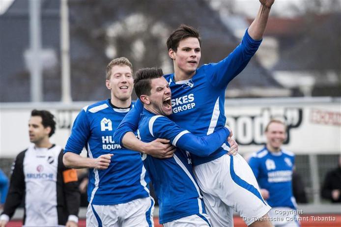 TVC '28 uit Tubbergen verdedigt de titel bij het komende Noabertoernooi in Harbrinkhoek.