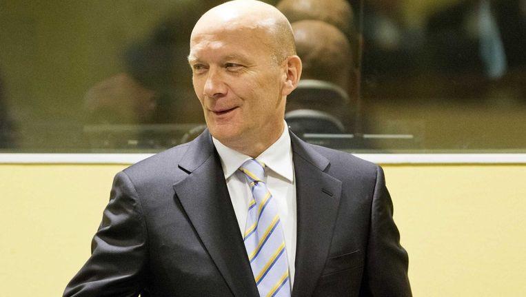 Oud-premier Jadranko Prlic van Herceg-Bosna Beeld epa