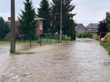 Inondations à Meise: rues sous eau et plan catastrophe enclenché