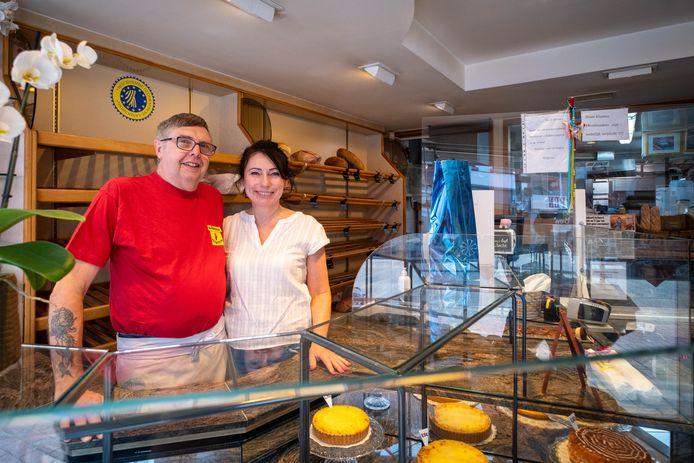 Malgosia Szymandera en Richard Verbeeck stoppen eind september met hun bakkerij.