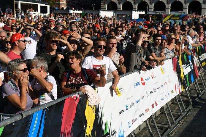 Het WK Wielrennen voor vrouwen in Leuven lokte al heel wat meer volk en vandaag wordt het zonder twijfel nog drukker in Leuven.