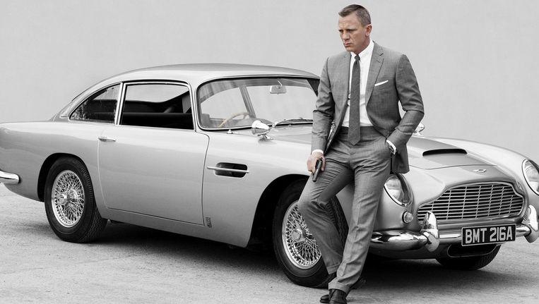 Craig is de eerste Bond die meer Martini's drinkt dan vrouwen kust. Beeld PHOTO_NEWS