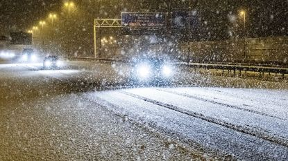 Na barre ochtendspits: sneeuw is het land nog niet uit