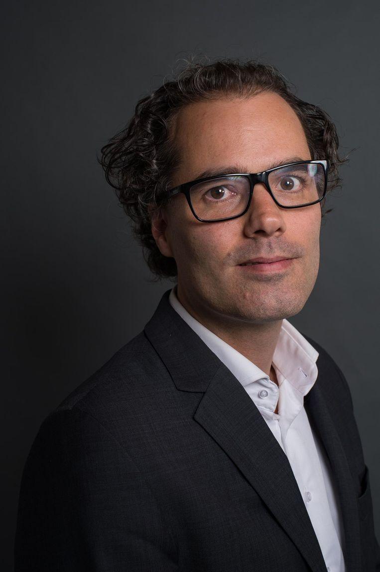 Laurens Ivens, lijsttrekker SP Amsterdam Beeld Mats van Soolingen