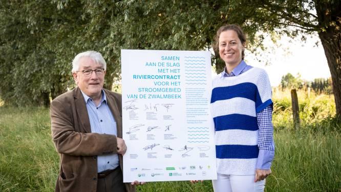 Horebeke ondertekent riviercontract voor het stroomgebied van de Zwalmbeek