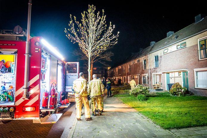 Vuurwerk explodeert op zolder in Eindhoven.