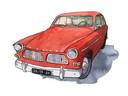 Rode Volvo Amazone