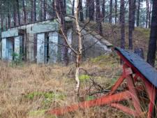 Verlaten munitiedepot in Hooge Mierde buffer tussen Nederland en België