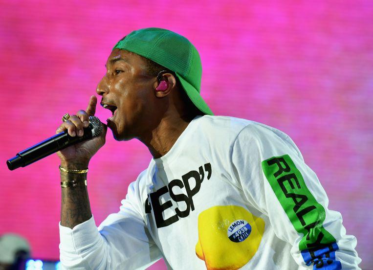 Pharrell Williams van N.E.R.D. Beeld Getty