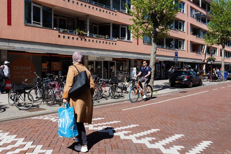 Eerste Oosterparkstraat Beeld Nina Schollaardt