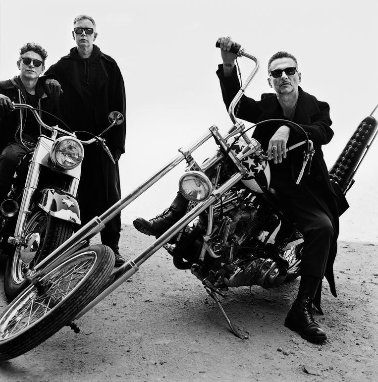 Depeche Mode maakte met 'Spirit' een uitgesproken politieke plaat. Beeld rv Anton Corbijn