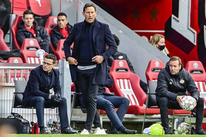 Roger Schmidt koestert de positie waarin PSV zit, als het gaat om Champions League-kwalificatie.