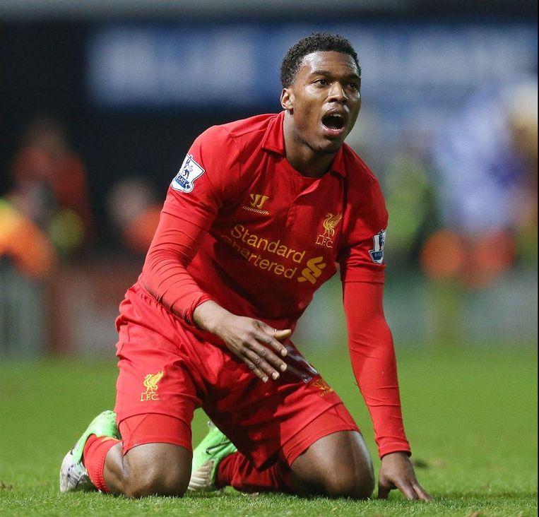 Daniel Sturridge meteen trefzeker voor Liverpool. Beeld PHOTO_NEWS