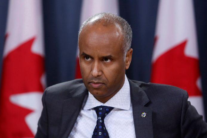 Ahmed Hussen: minister van Immigratie, vluchtelingen en burgerschap.