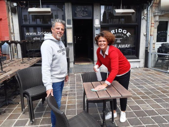 Michael en Barbara van Brasserie Bridge.