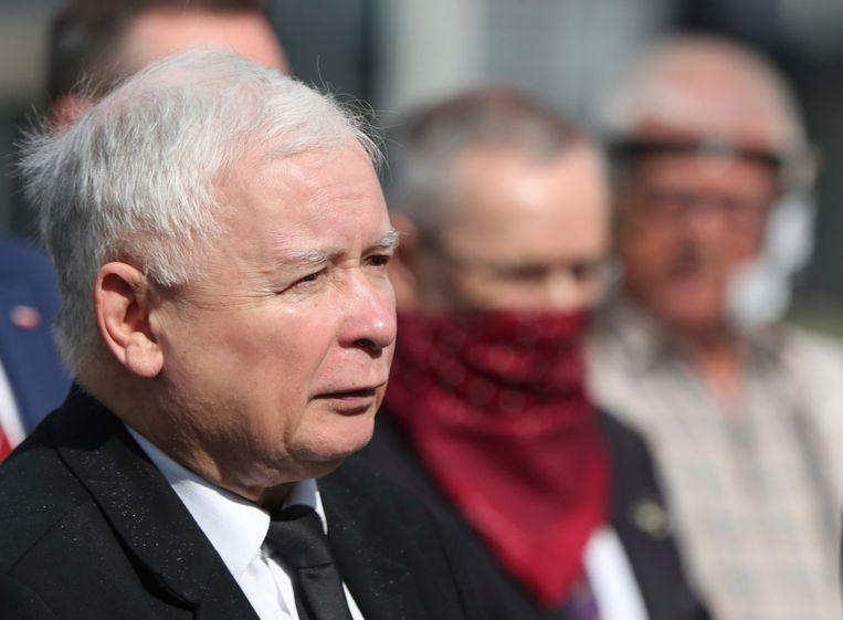 Jaroslaw Kaczynski. Beeld AP
