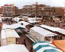 De markt in Enschede (1980)