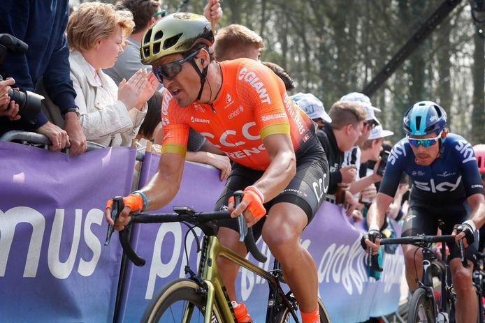 Des chutes, des podiums, des places d'honneur: Greg Van Avermaet a tout connu sur le Tour des Flandres, mais attend toujours la consécration ultime.