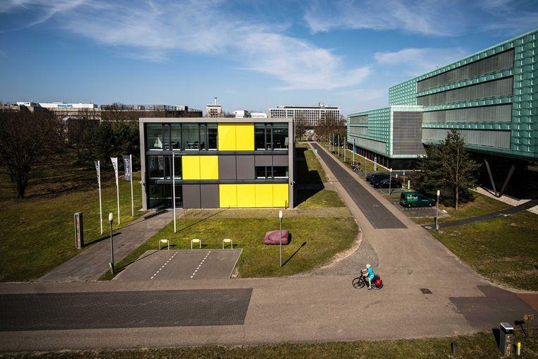De High Tech Campus in Eindhoven, waar koning Willem-Alexander, koningin Máxima en hun drie dochters Koningsdag 2021 zullen vieren.  Beeld ANP
