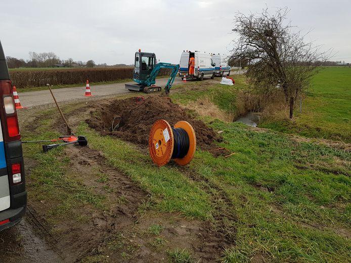 Door de gebroken kabel bij Culemborg hebben studenten in Eindhoven al twee dagen geen internet