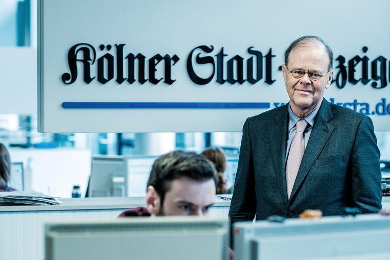 Peter Pauls, hoofdredacteur van de Kölner Stadt-Anzeiger. Beeld Bob Van Mol