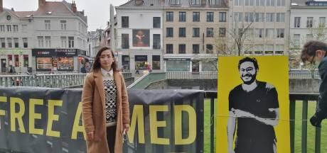 """""""Wij willen Ahmed vrij, nu"""": actievoerders eisen vrijlating van jonge onderzoeker die in Gent een leven probeerde op te bouwen"""
