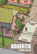 De omslag van het stripboek van Herman Roozen.