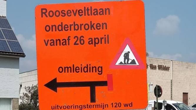 Rooseveltlaan tussen Erpe en Mere 120 werkdagen afgesloten voor verkeer