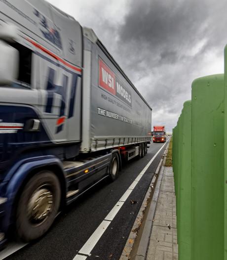 Vrachtwagen krijgt groen licht op nieuwe N279