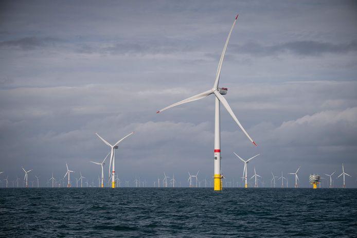 Eneco heeft onder meer een pak windturbines staan voor de kust van Oostende.