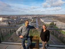 Hier valt je mond van open: 'Ze noemen ons balkon de poolster van Den Haag'