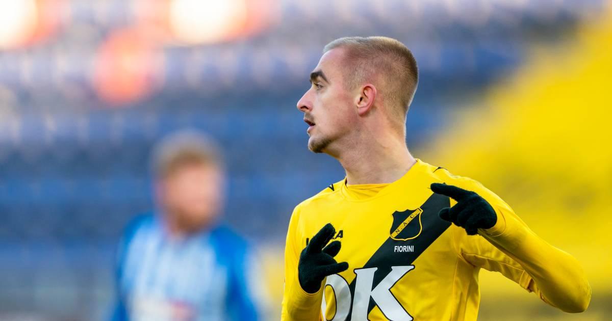 Fiorini en Immers bezorgen NAC drie punten in de vrieskou tegen FC Eindhoven - BN DeStem