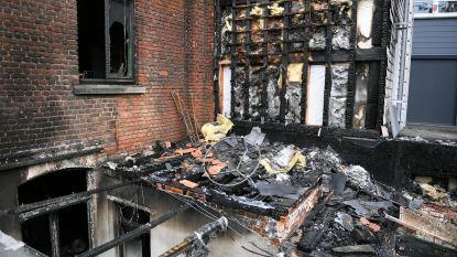 Zware brand treft studentenhuis