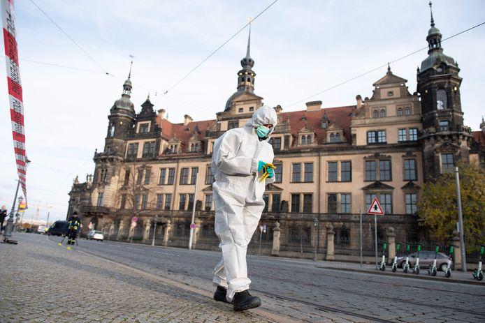 Museum Grünes Gewölbe in Dresden.