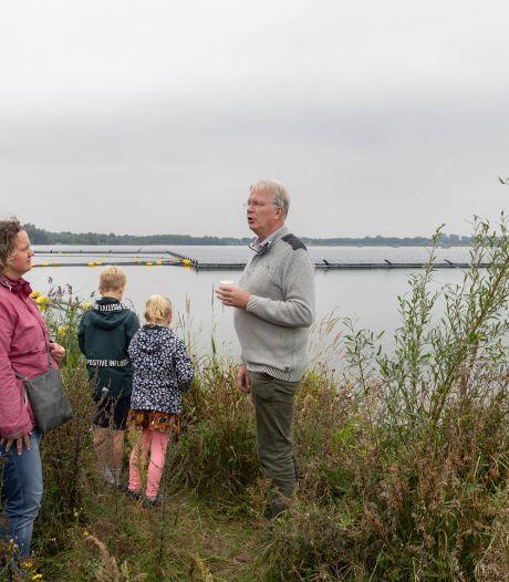 Belangstelling, maar ook 'schurende gesprekken' bij open dag Zonnepark Bomhofsplas