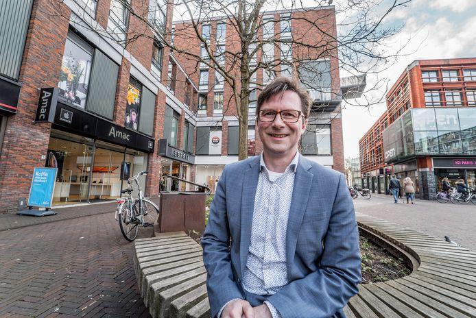 Wethouder Stephan Brandligt: 'Delft niet verantwoordelijk voor malaise die Sjoerd S. aanrichtte.'