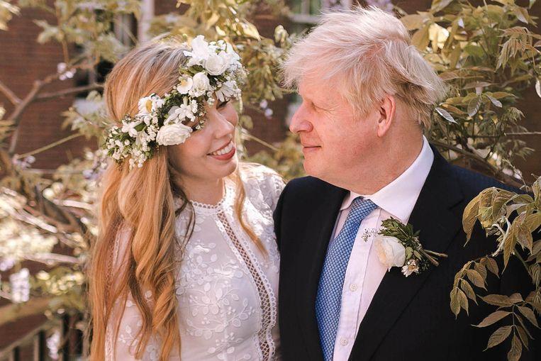 Boris Johnson en vrouw Carrie Beeld Getty Images