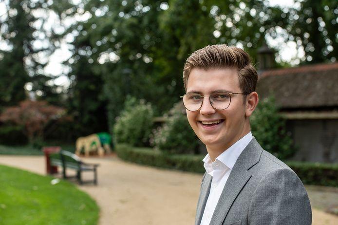 Het CDA in Dongen heeft de 20-jarige Stijn Sips naar voren geschoven als lijsttrekker voor de gemeenteraadsverkiezingen van volgend jaar maart.