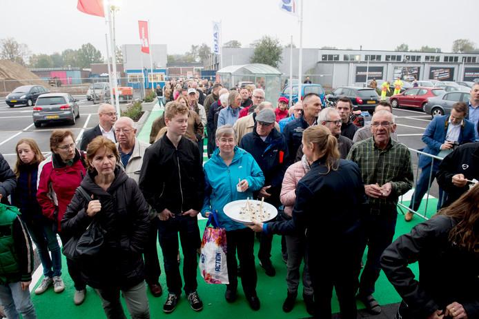 Opening Aldi aan de Vlijtseweg.