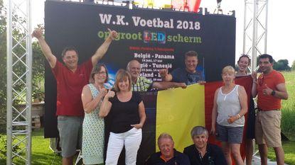 Parking 't Schrijverke wordt WK-dorp