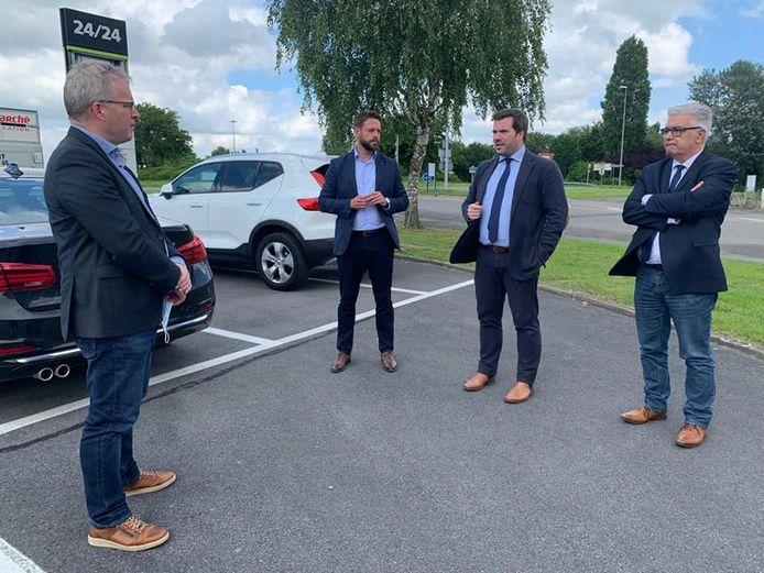 Le Ministre wallon de la Mobilité, Philippe Henry (Écolo), a discuté avec les bourgmestres concernés de la RN 54.