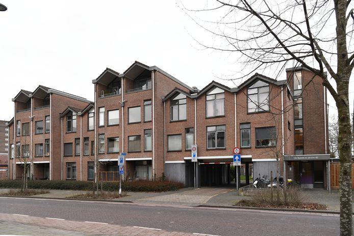 Jongerencentrum De Burcht: hier komen appartementen.